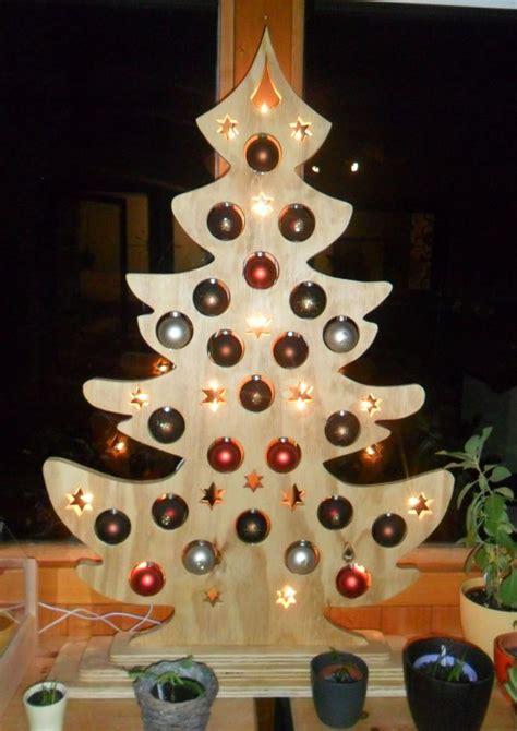 weihnachtsbaum aus holz userprojekt wohnen deko selbst de