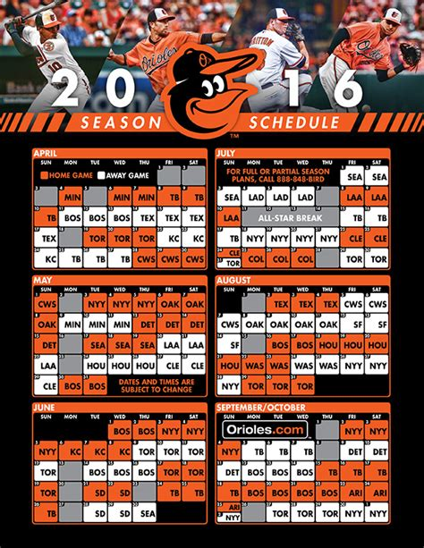 printable orioles tickets red sox 2016 schedule calendar template 2016