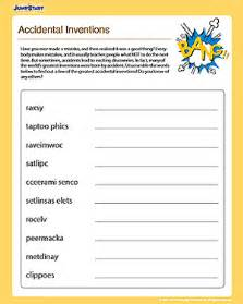 accidental inventions fun social studies worksheet for