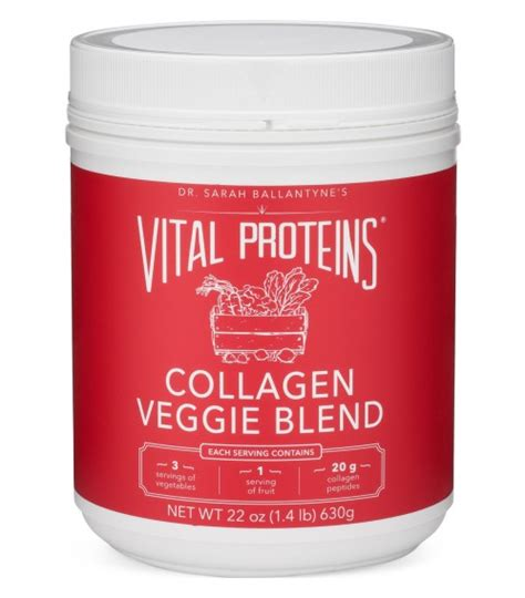 vital proteins collagen vital proteins collagen veggie blend stoneage health