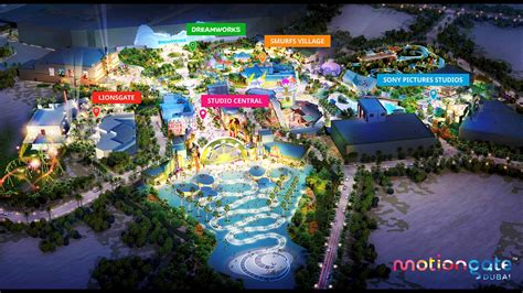 dubai theme parks lights camera motiongate a look into dubai s newest