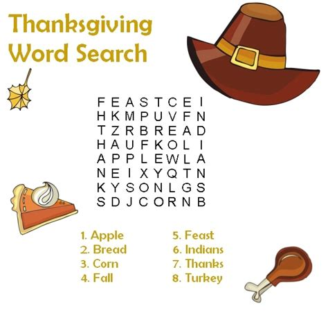 printable word search on thanksgiving printable thanksgiving word search coloringpagebook com