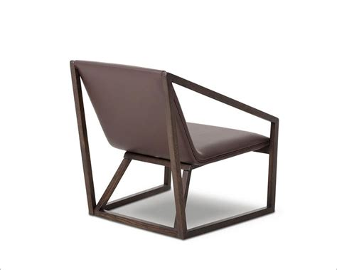 Contemporary Leather Lounge Chairs by Contemporary Brown Eco Leather Lounge Chair 44lg511y