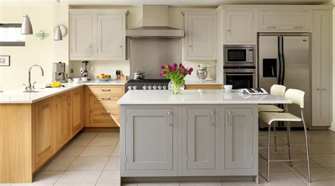 shaker kitchen ideas oak painted shaker kitchen gallery kitchen