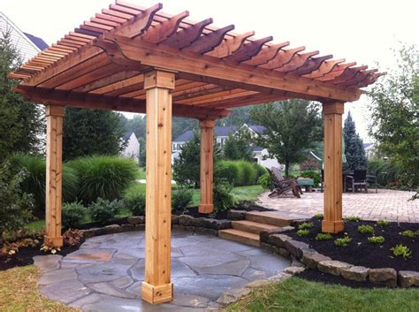 Triangle Pergola Plans And Pictures Joy Studio Design Pergola Designs