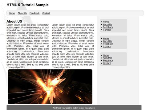 design html website tutorial simple website layout tutorial using html 5 and css 3