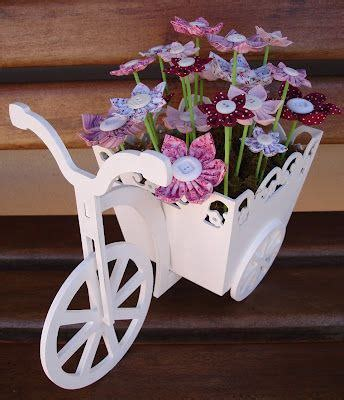 laser cut bicycle  flower box mm  vector cdr