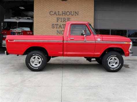1979 Ford F150 4x4 For Sale by Find Used 1979 Ford F150 4x4 Ranger In Calhoun
