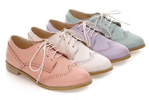 Flat Shoes Wanita Cantik 0086 new 2015 fashion vintage cutout color oxford shoes for comfortable low heel