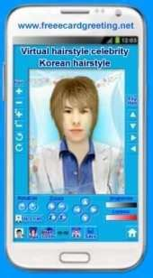 virtual hairstyles app android app virtual korean hairstyle men