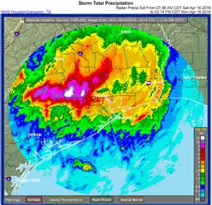 Historic flooding ongoing as houston records one of its rainiest days