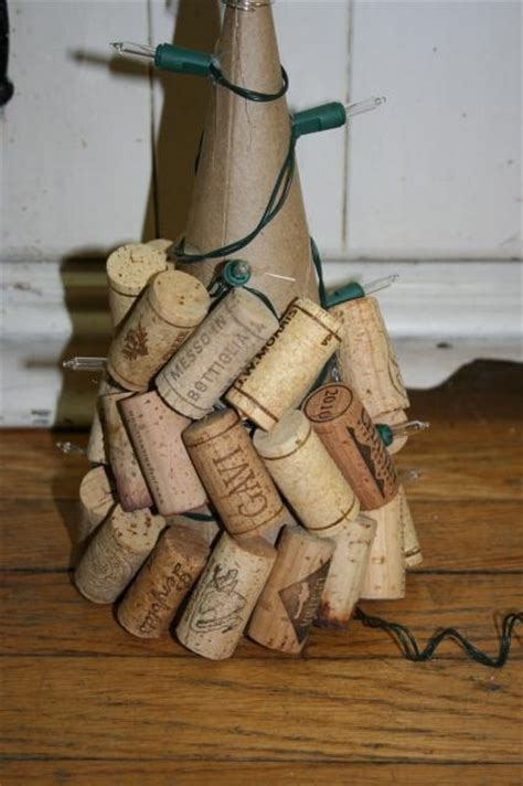 make a wine cork christmas tree simply rurban simply