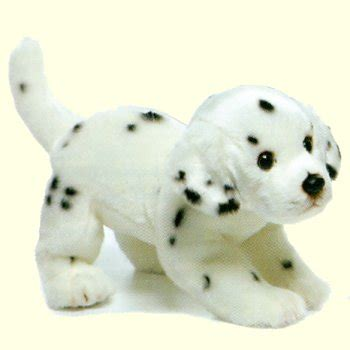 plush dalmatian puppy stuffed animal