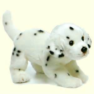 plush dalmatian puppy stuffed animal