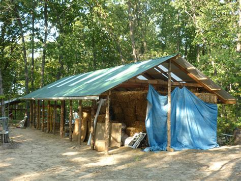 How To Install Tin Roof On Shed by Garden Creek Education In Sustainability
