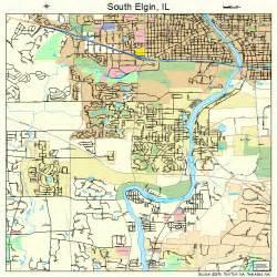 south elgin illinois map 1770720
