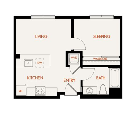one bedroom apartments with washer and dryer 100 bathroom floor plans with washer and dryer