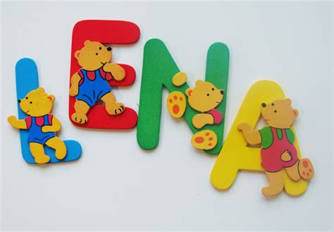 kinderzimmer bild alphabet buchstaben deko kinderzimmer dekoration bild idee