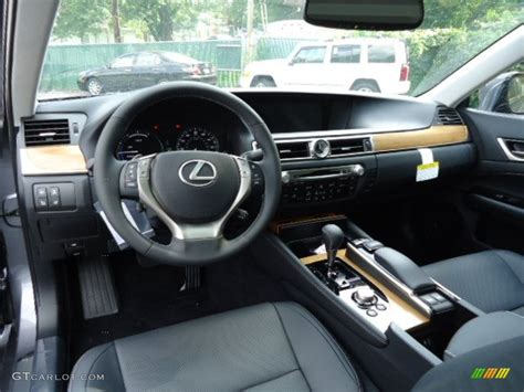 black lexus interior black interior 2013 lexus gs 450h hybrid photo 69382768