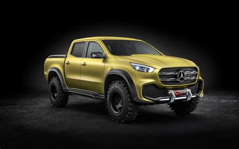mercedes pickup 2017 2017 mercedes benz x class pickup concept 8k wallpapers