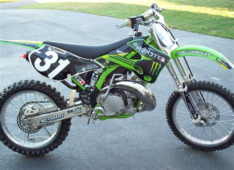 Kawasaki 250 Dirtbike by 2000 Kawasaki Kx 250 Motocross 2 Stroke Bikes