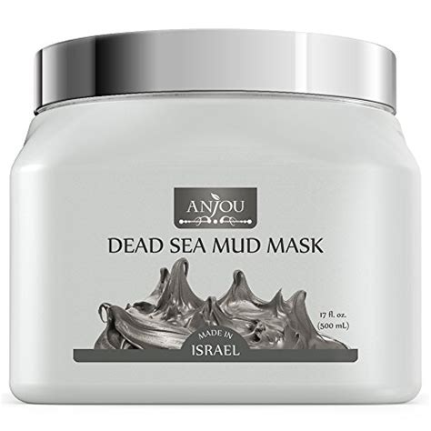 Pinklab Dead Sea Mask Pinklab Brush anjou 17 oz dead sea mud mask for treatment made in import it all
