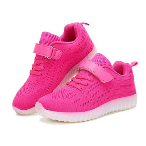 sport light up shoes light up led sport shoes boys mesh sneakers