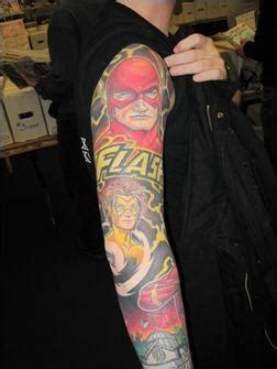 flash tattoo qatar 35 amazing comic book tattoos paperblog