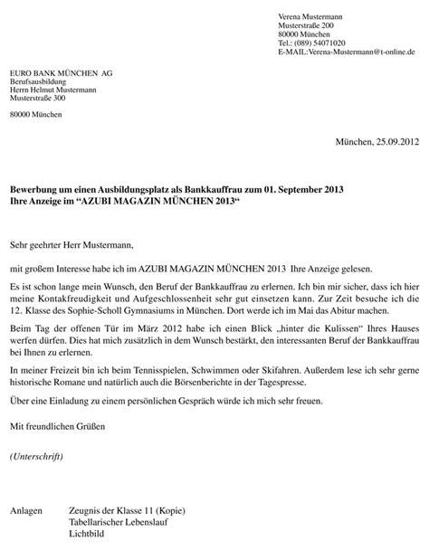 Bewerbung Englisch Schlubsatz Willkommen Beim Azubi Magazin M 252 Nchen