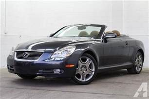 Lexus Convertible For Sale 2006 Lexus Sc 430 Convertible 2dr Convertible 2006 Lexus