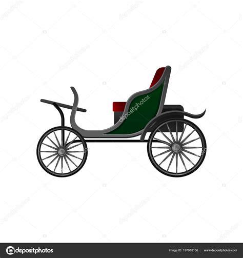 grote rode stoel open koets met kleine groene cab rode stoel en grote
