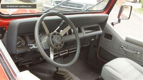 jeep islander interior 1989 jeep wrangler islander sport utility 2 door 4 2l