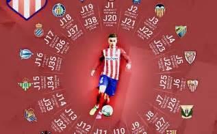 Calendario Atletico De Madrid Calendario Atl 233 Tico Madrid 2017 2018 Liga Espa 241 Ola Santander