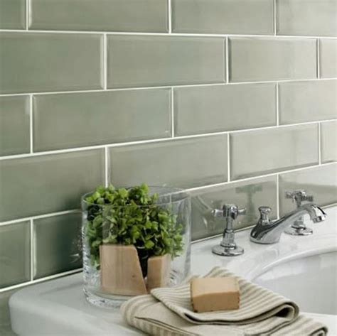 Kitchen Tiling Ideas Backsplash 32 sage green bathroom tiles ideas and pictures