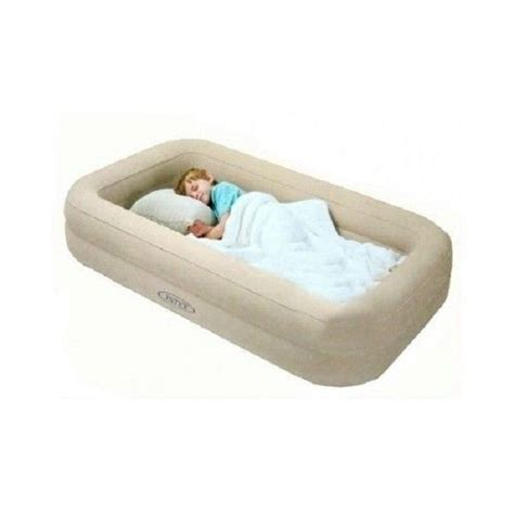 blow up toddler bed kids travel bed inflatable portable folding toddler air mattress child spare cot ebay