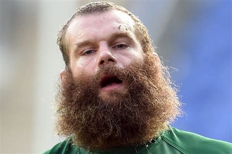 clubbing a man hair in scotland london irish s geoff cross reveals his big beard is hair