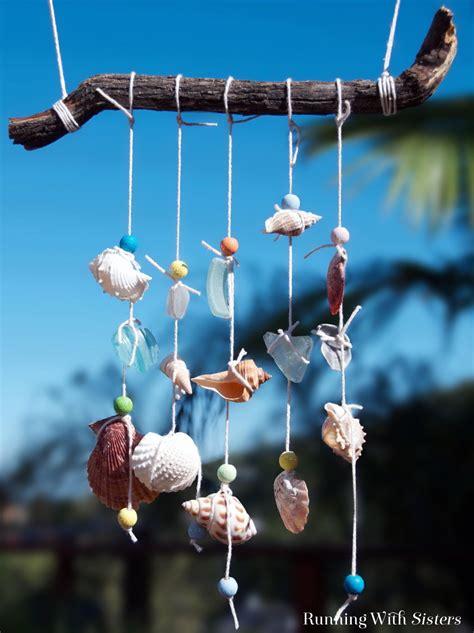breezy seashell mobile running  sisters