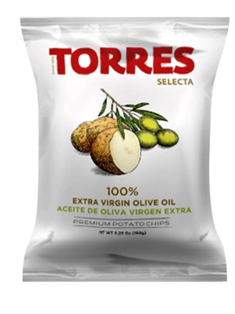 Torres Olive Potato Chip 50g Keripik Kentang potato chips torres gourmet snacks since 1969 products potato chips selecta potato chips
