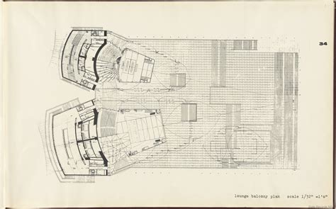 Elevation Floor Plan by Sydney Opera House Yellow Book State Records Nsw