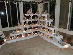 home design image ideas ideas to display christmas village