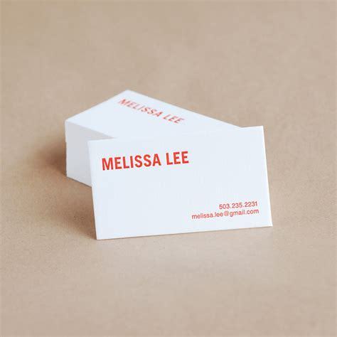Ink Business Card For Personal Use