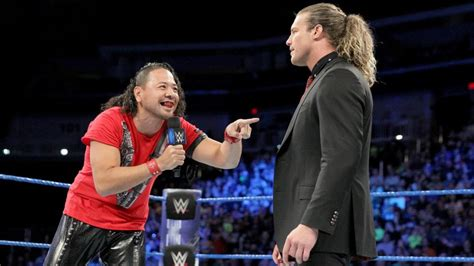 dolph ziggler stile shinsuke nakamura may have revealed dolph ziggler s post