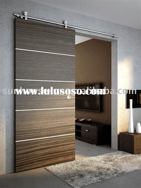 Door La by Wood Sliding Door Sliding Door Fitting Home Decor