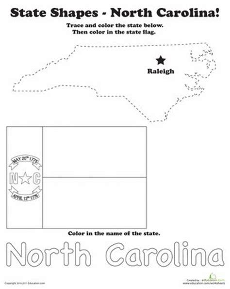 Carolina Worksheets by Carolina Worksheets And 50 States On