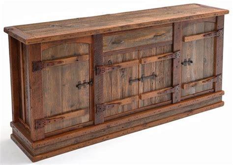 Reclamed Furniture by Western Furniture Barn Wood Sideboard Reclaimed Wood