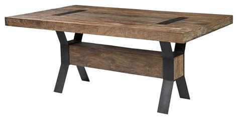 industrial kitchen table furniture industrial dining table industrial dining tables new york by zin home