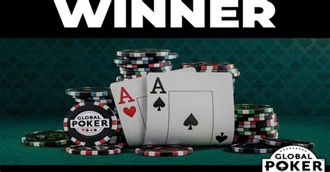 global poker cash    win real money