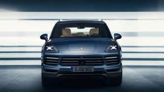 Porsche Cayenne Suv 2018 Porsche Cayenne Suv Leaks Ahead Of August 29 Debut