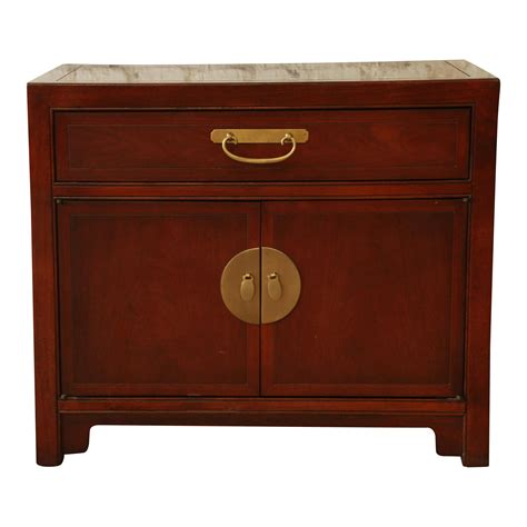 Baker Furniture Chinoiserie Nightstand Chairish Baker Office Furniture