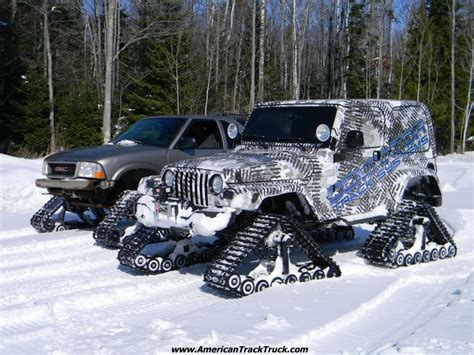 jeep tracks track truck car truck suv rubber track system